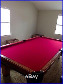 9' olhausen pool table