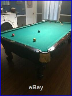 9ft Brunswick Pool Table- in good shape. Buyer would need to pick up
