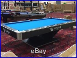 9ft. Rasson victory 2 Tournament pool table showroom model