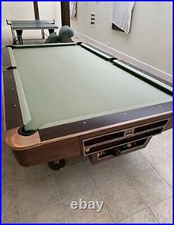 9ft american pool table