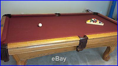 AMF Mastercraft 7 foot pool table