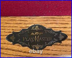 AMF PlayMaster Pool Table with Ping Pong Table Top- Mint Condition