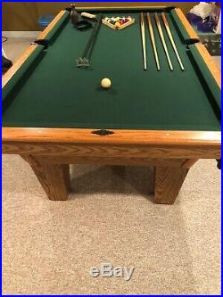 AMF Playmaster 7 Slate Pool Table withAccessories