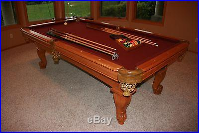 AMF Playmaster Brunswick Pool Table 8
