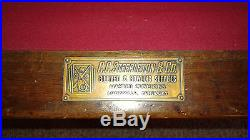 ANTIQUE LOUISVILLE SLATE STEEPLETON BILLIARDS POOL TABLE 1940'S