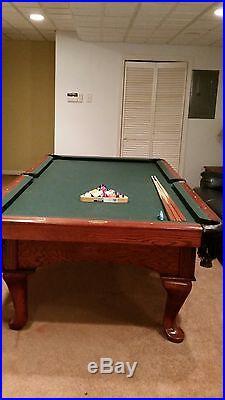 A. E. Schmidt 9ft pool table