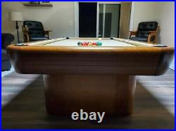 Absolutely Gorgeous 4x8 Brunswick Gibson model pool table package