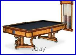 Absolutely STUNNING & EXTREMELY RARE 9' Brunswick Isabella pool table package