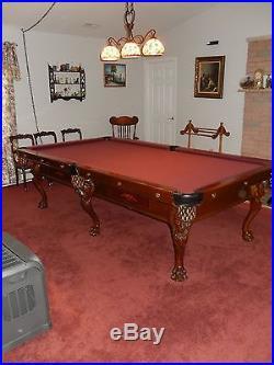 Adler Pool Table Monarch II 1960's restored like new Billiard Table