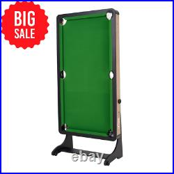 Airzone 60 Folding Pool Table with Accessories, Green Cloth- BIG SALE