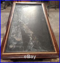 Alter Gründerzeit Carambolagetisch Carambolageplatte Billardtisch
