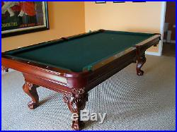 American Heirloom Captiva 8 ft Pool Table-Retail $5,995-Excellent Condition