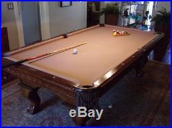 American Heritage 8 Foot Pool Table #44445