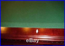 American Heritage 8 Foot Slate Pool Table #44445 & Accessories Pick Up Only
