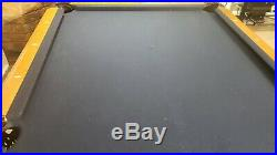 American Heritage 8ft Slate Pool Table and Equipment Mid 2000's Era