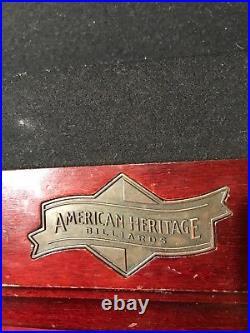 American Heritage pool table set