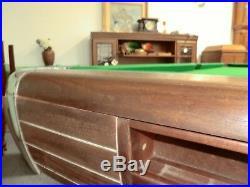 Anniversary Brunswick Pool table