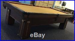 Antique 1908 Brunswick Balke Collender 9ft Table Reduced price $1,500 or B/O