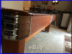 Antique 1939 Brunswick-Balke-Collender Co. 20th Century Pool Table