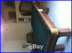 Antique 8' Pool Table from the 1890's
