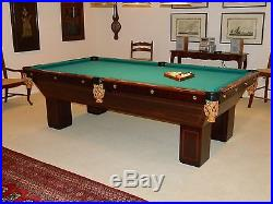 Antique Brunswick 8 FT. Pool Table and original slates plus tons of ACCESSORIES