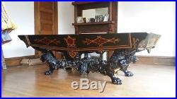 Antique Brunswick-Balke-Collender Co1875 Monarch Ebony Pool Table THE VERY BEST