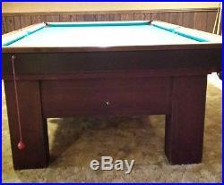 Billiards Tables Antique - Brunswick madison pool table