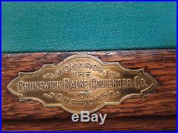 Antique Brunswick-Balke-Collender co. Chicago circa 1895