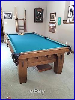 Billiards Tables Missionb - Brunswick mission pool table