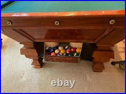 Antique Brunswick Delaware pool table new lower price