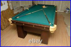 Antique Brunswick Pool Table 8+ Size, Local pickup only