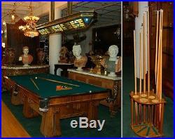 Antique Brunswick Six-Legged Kling Table #6928