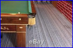 Antique Brunswick Snooker Table. Great condition. 12 foot long X 6 foot wide