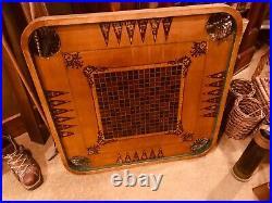 Antique Carrom Board Game Vintage