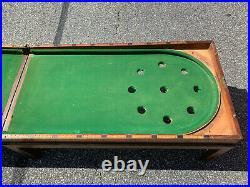 Antique Mahogany Bagatelle Game Table Billiards Snooker Bar Pool Pub