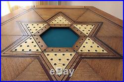 Antique Multi Games Table