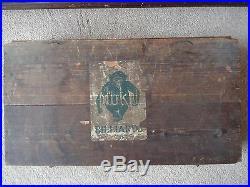 Antique Original Mahogany J P Mannock Miniature Nuku Snooker Billiard Table 1890