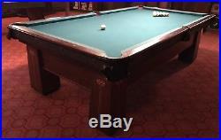 Antique Pool Table Regina Brunswick Balke-Collender Co. Monarch Arts And Crafts