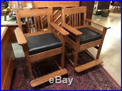 Antique Set Of Billiard Chairs Early Pool Billiard Oak Spectators Chairs