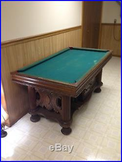 Antique Speciality Pool Table