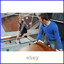 Aramith Black Powder Coated w Black Lacquer Top Fusion Billiard Pool Table
