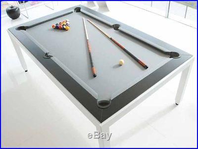 Aramith Fusion White Powder Coated Pool Table