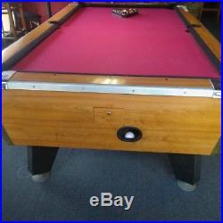 Atlanta Falcons Valley Dynamo Coin Op Pool Table Billiards