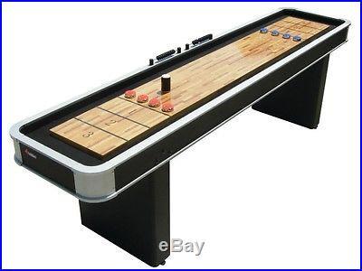 Atomic 9' Platinum Shuffleboard Game Room ESM01702AW