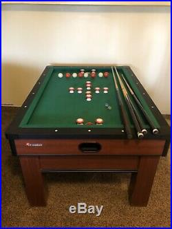 Atomic Classic Billards Bumper Pool Table/w Sticks