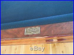 BRUNSWICK BILLIARDS Pool TABLE 5 x 9 Sticks & Balls incl