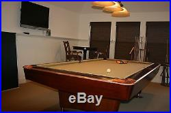 ### BRUNSWICK GOLD CROWN IV POOL TABLE ### Plus all accessories
