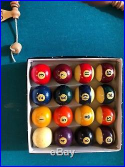 Bar Room Style Pool Table Slate Material PICK UP ONLY