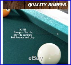 Barrington 84 Arcade Pool Table with Bonus Dartboard Set, Green Cloth