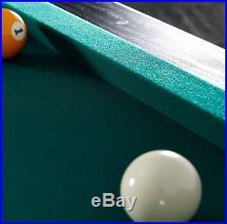Barrington 84 Inch Arcade Billiard Pool Table with Bonus Dartboard Set Billiards